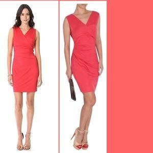 DVF Coral Parker Jersey Dress Sz S/XS